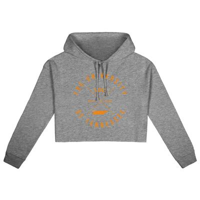 Tennessee Uscape X Arch Crop Hoodie