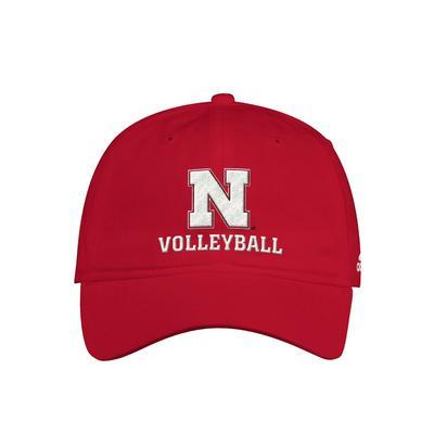 Nebraska Adidas Volleyball Adjustable Hat