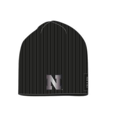 Nebraska Adidas Cold Rib Knit Beanie