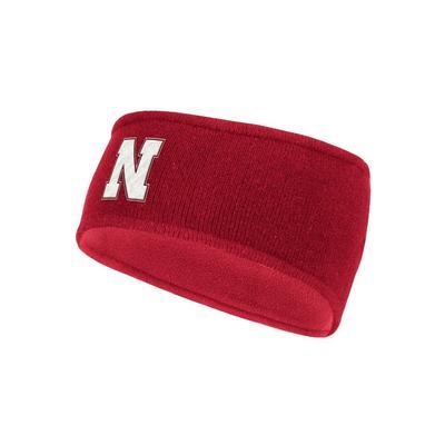 Nebraska Adidas N Logo Earband