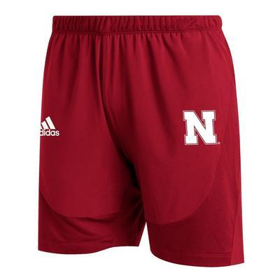 Nebraska Adidas Sideline 21 Training Shorts