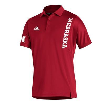 Nebraska Adidas Sideline 21 Coordinator Polo