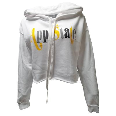 Appalachian State Kickoff Couture Game On Cropped Hoodie