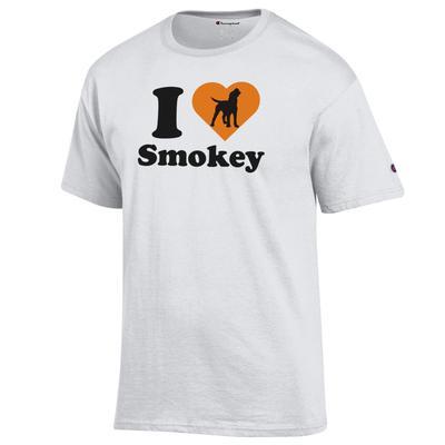 Tennessee Champion Women's I Love Smokey Tee