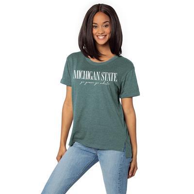 Michigan State University Girl Must Have Tee