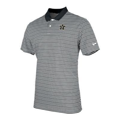 Vanderbilt Nike Victory Stripe Polo