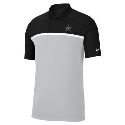 Vanderbilt Nike Victory Colorblock Polo