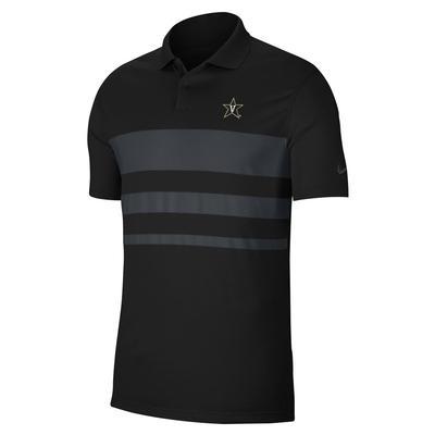 Vanderbilt Nike Vapor Colorblock Polo
