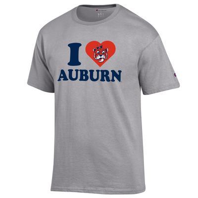Auburn Champion Women's I Love Auburn Tee
