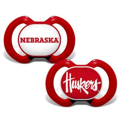 Nebraska 2 Pack Pacifier Set
