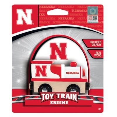 Nebraska Wood Toy Train Engine