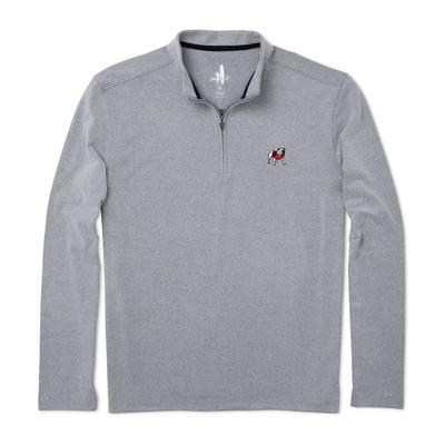 Georgia Johnnie-O Brady Fleece 1/4 Zip Pullover