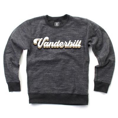 Vanderbilt Kids Reverse Fleece Long Sleeve Pullover