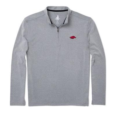 Arkansas Johnnie-O Brady Fleece 1/4 Zip Pullover