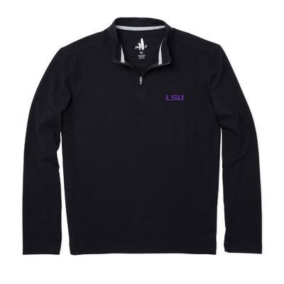 LSU Johnnie-O Brady Fleece 1/4 Zip Pullover