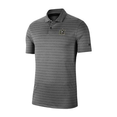 Vanderbilt Nike Vapor Stripe Polo