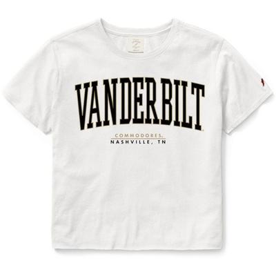 Vanderbilt League Clothesline Super Arch Crop Tee