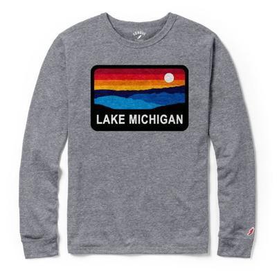 Lake Michigan League Horizon Long Sleeve Tee