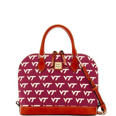 Virginia Tech Dooney & Bourke Zip Zip Satchel