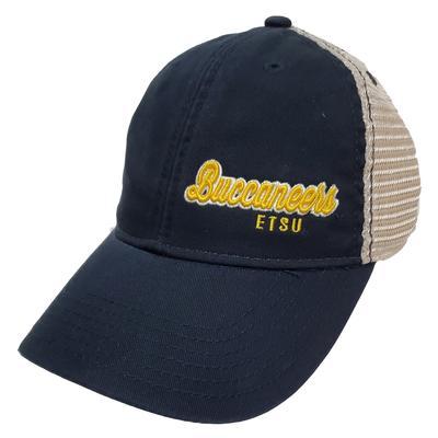 ETSU Legacy Women's Script Left Hit Trucker Hat