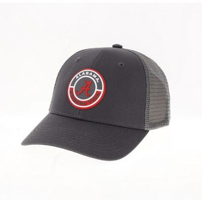 Alabama Legacy YOUTH PVC Road Patch Trucker Hat