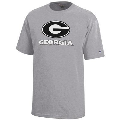 Georgia Champion YOUTH Giant Logo Tee