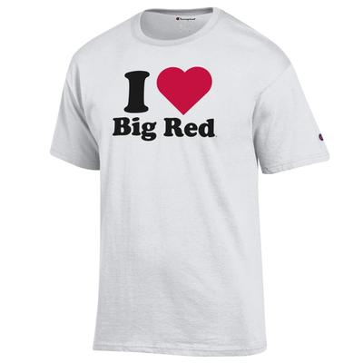 Western Kentucky Champion Women's I Love Big Red Tee