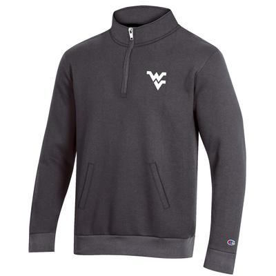 West Virginia Champion Men's Fleece 1/4 Zip Pullover