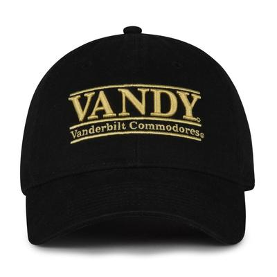 Vanderbilt The Game Twill Vandy Bar Cap