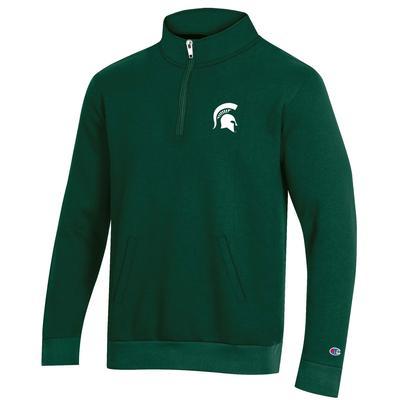 Michigan State Champion Men's Fleece 1/4 Zip Pullover