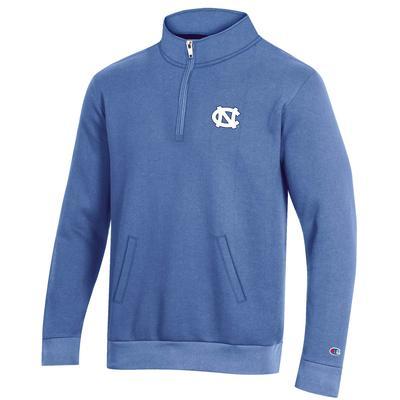 UNC Champion Men's Fleece 1/4 Zip Pullover