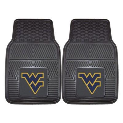 West Virginia 2 Pack Heavy Vinyl Car Mats