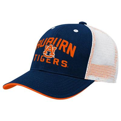 Auburn Gen2 YOUTH Arch Logo Trucker Hat