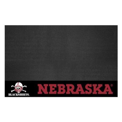 Nebraska Blackshirts Grill Mat