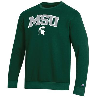 Michigan State Champion Men's Arch Crew Fleece Sweatshirt