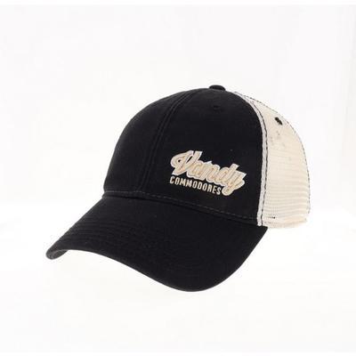 Vanderbilt Legacy Women's Script Left Hit Trucker Hat
