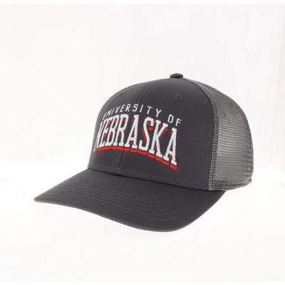 Nebraska Legacy Shadow Trucker Hat