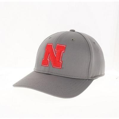 Nebraska Cool Fit N Logo Structured Hat