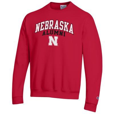 Nebraska Champion Arch Alumni Fleece Sweatshirt