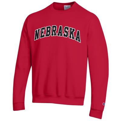 Nebraska Champion Arch Fleece Sweatshirt