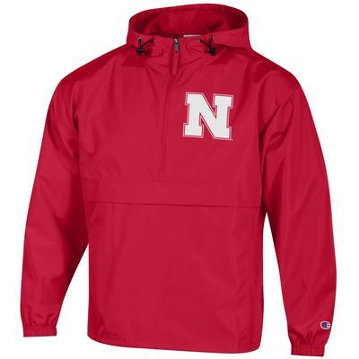 Nebraska Champion Unisex Pack And Go Pullover