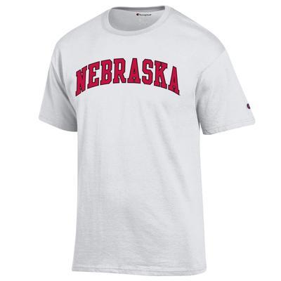Nebraska Champion YOUTH Arch Tee