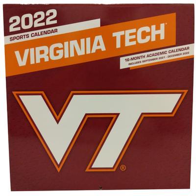 Virginia Tech 2022 Wall Calendar