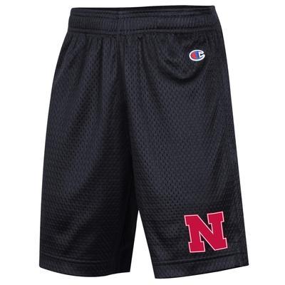 Nebraska Champion YOUTH Mesh Shorts