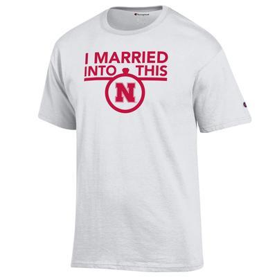 Nebraska Champion Women's I Married Into This Tee