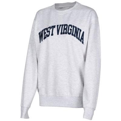 West Virginia Zoozatz Sport Applique Crew