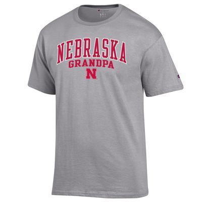 Nebraska Champion Arch Grandpa Tee