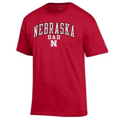 Nebraska Champion Arch Dad Tee