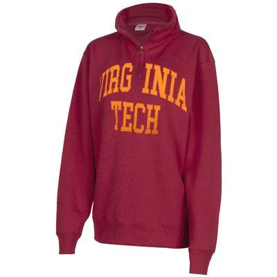 Virginia Tech Zoozatz Sport Applique 1/4 Zip Pullover