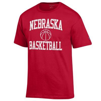 Nebraska Champion Basic Basketball Tee